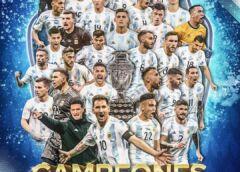 Argentina Campeón de América ante Brasil y en el Maracana